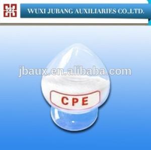Plástico aditivos, cpe135a, polvo blanco 99% de pureza