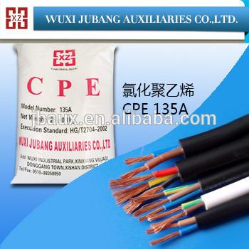 chloriertes polyethylen cpe135a für gummi kabelmantel
