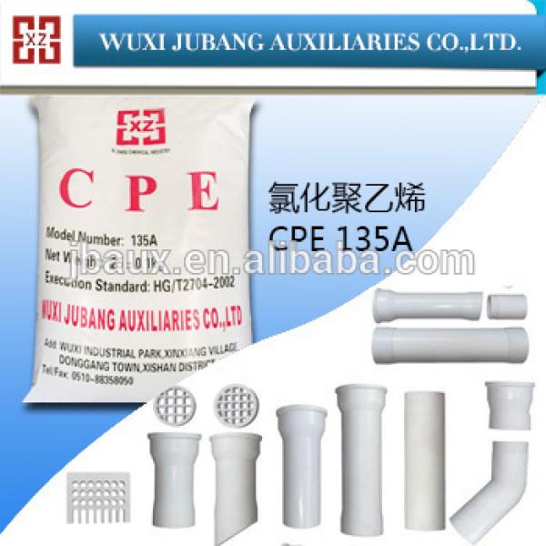 Kautschukhilfsmittel, cpe135 für pvc-rohr, gute Verkäufe