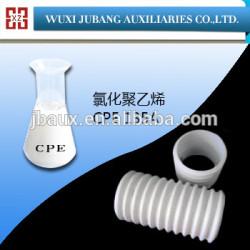 Polyéthylène chloré cpe135a résine pour en plastique
