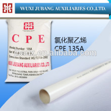 Clorada polietileno / CPE principalmente para pvc tubo de plástico etc