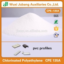 Polyéthylène chloré cpe 135 pour fabrication de pvc film