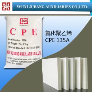Cpe 135a, química agente auxiliar, tablero de espuma de pvc, polvo blanco