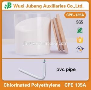 염소화 폴리에틸렌 CPE 135a 원료 PVC 프로필 및 파이프