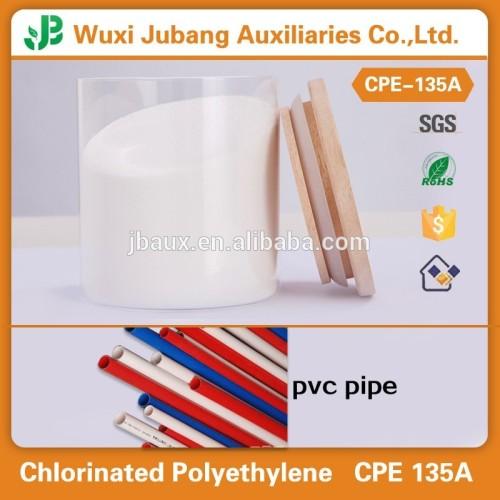 Chloriertes polyethylen cpe 135a rohstoff für pvc-profile und rohre