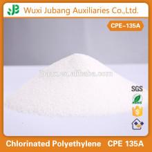 Bonne résistance d'âge, Anti - ozone et résistance aux intempéries polyéthylène chloré CPE 135A