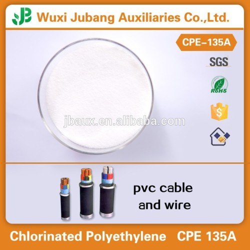 Impact modifier cpe135a for PVC cable duct