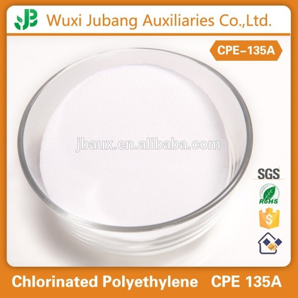 Polyéthylène chloré 135a pour tous pvc et produits en caoutchouc