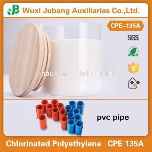 Schlagzähmodifikator CPE 135A/PVC rohstoff, Chemische verwendet in pvc-rohr industrie