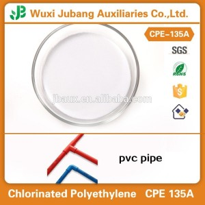 Polietileno clorado CPE 135A, química CPE para PVC fortalecer