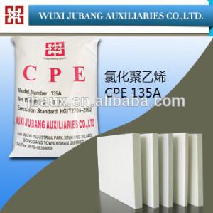 Cpe135a para modificador de impacto del pvc tablero de la espuma