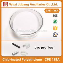 Resina de PVC cpe 135a boa tenacidade para perfis de PVC