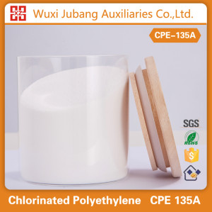 Agent auxiliaire chimique, Cpe-135, Poudre blanche, Pvc porte