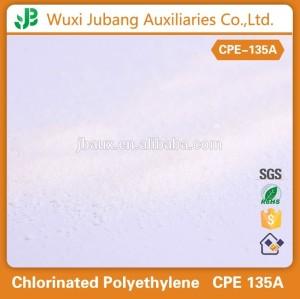 염소화 폴리에틸렌 수지는, CPE 135a 수지, CPE 135a 첨가제