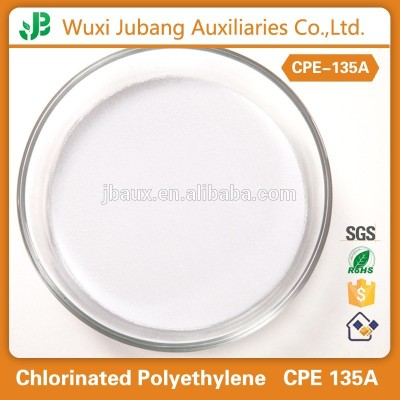 Chlorinated Polyethylene CPE 135A Resins for U-PVC Cold Curved Pipe
