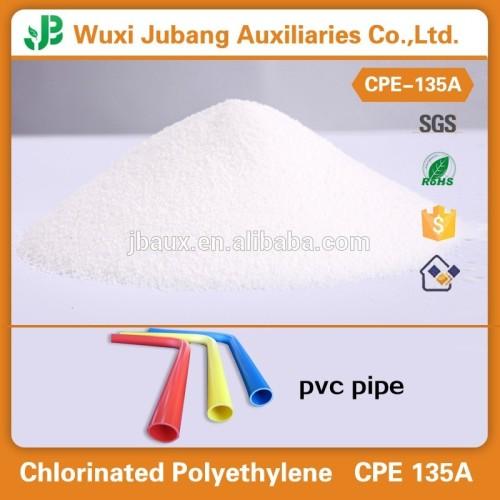 Chloriertes polyethylen cpe 135a harze für u-pvc Kälte gebogenen rohr