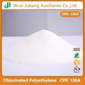 Cpe-135a, PVC impacto modificador, tubos de PVC, 99% pureza