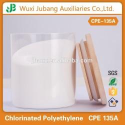 Impact modificateur polyéthylène chloré polymère