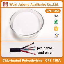Polyéthylène chloré, Cpe135, Grande ténacité pour pvc câble et fil