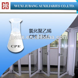 Cpe135a, Agent auxiliaire chimique, Pvc porte, Première qualité