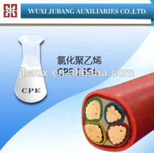 Cpe-135a, plasticized policloruro, protección del cable, gran densidad
