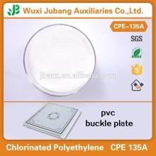 Resina de pvc em pó elastômero termoplástico resina cpe 135a