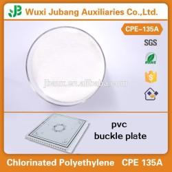 Resina de pvc en polvo, elastómero termoplástico resina cpe 135a