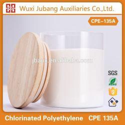 China CPE 135A fabricante blanco tubos de pvc materia prima, barato pvc materia prima