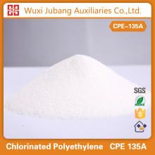 Venda direta da fábrica de alta densidade clorada polietileno CPE135 um