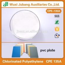 Placa de PVC químico auxiliar agentes / CPE135