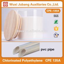 Materiais químicos, cpe135a, excelente preço para tubo de PVC
