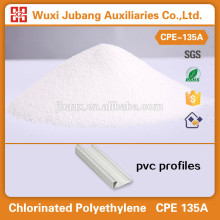 Cpe 135a, matéria-prima química para os perfis de pvc, a melhor qualidade