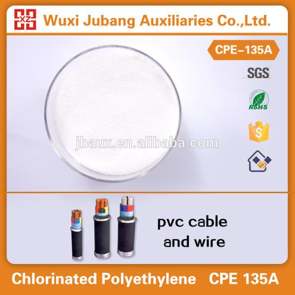 Chlorinated Polyethylene(CPE) for plastics,rubbers etc.