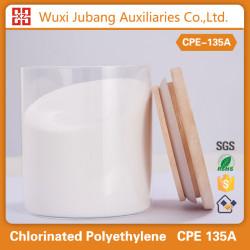 En plastique auxiliery agent polyéthylène chloré cpe135a trunking modificateur d'impact