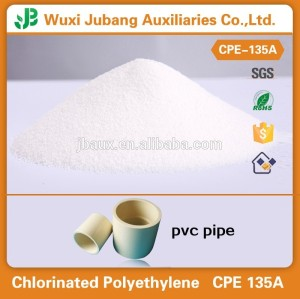 Chlorinated Polyethylene CPE 135A for Rigid PVC Pipes/Profiles