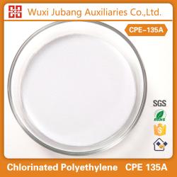 Конкурентоспособная цена химической модификатор ударопрочности хлорированного полиэтилена CPE 135A для пвх труб