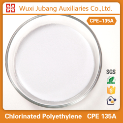 Preço competitivo química modificador de impacto CPE clorada polietileno 135A para tubos de pvc