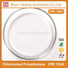 Polyéthylène chloré CPE 135A Cas no.63231 - 66 - 3 utilisation pour gaine de câble