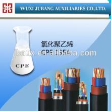 Aditivos químicos de PVC fios e cabos da cpe 135a