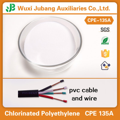 Chlorinated Polyethylene CPE 135A for PVC Cable and Wire Supplier