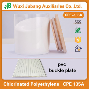 Good raw material CPE 135A Resin powder for PVC Buckle Plate
