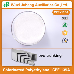 White powder Chlorinated Polyethylene for PVC profile