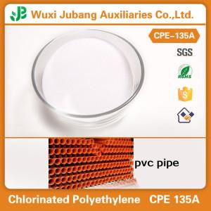Plastic Additive CPE 135a Powder  for PVC Pipe