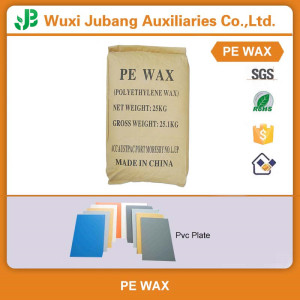 PE wax for PVC fasteners in Chinese factories