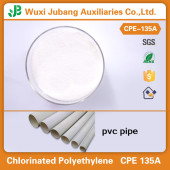 Chemical Raw Material PVC Resin CPE 135A Powder for PVC Pipes