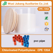 China Factory  PVC Impact Modifier CPE135A for PVC Pipe
