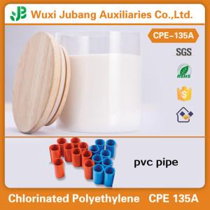 China Factory  PVC Impact Modifier CPE135A for PVC Pipe