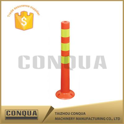 lower factoty price 75cm plastic flexible warning post