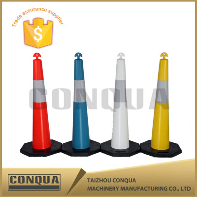road divider signs traffic delineator post