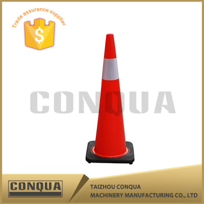 safety reliable rebound road used PVC plastic traffic cones with best price